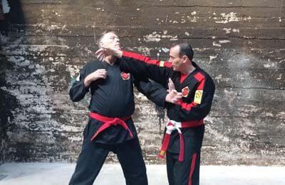 Kyusho Jitsu techniek