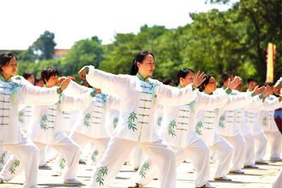 Qi Gong beoefenaars